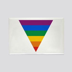 Pride Triangle Rectangle Magnet