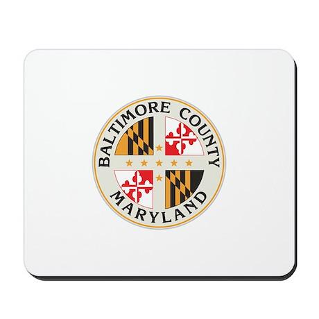 BALTIMORE-COUNTY-SEAL Mousepad