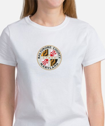 BALTIMORE-COUNTY-SEAL Womens T-Shirt