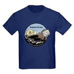 Sea Otter Savvy Kid's Dark T-Shirt