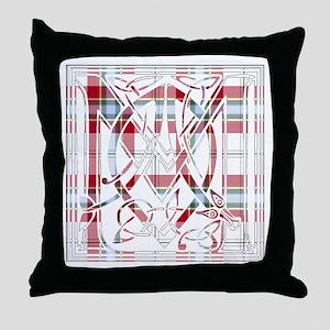 Monogram-MacLeanDuart dress Throw Pillow