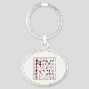 Monogram-MacLeanDuart dress Oval Keychain