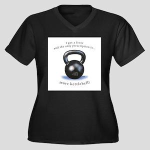 Prescription for Kettlebell Plus Size T-Shirt