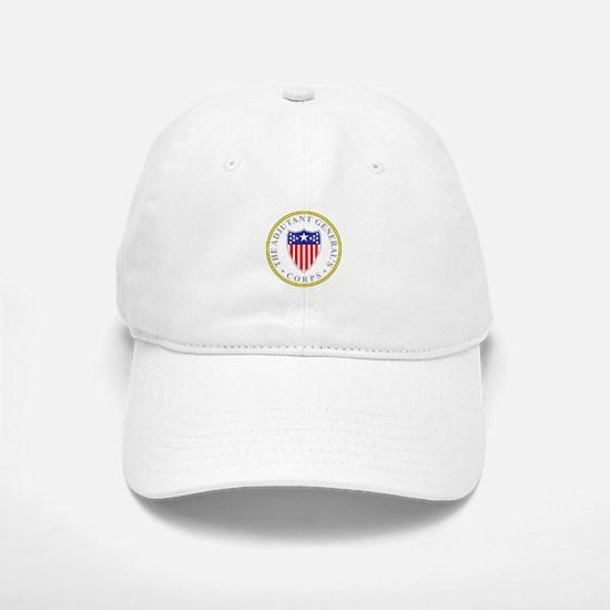 ADJUTANT-GENERAL-CORP Baseball Baseball Cap