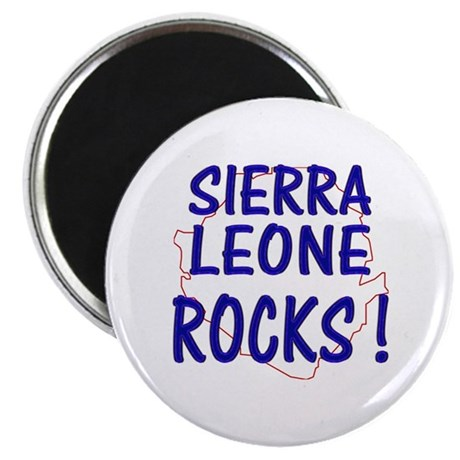Sierra Leone Rocks ! Magnet
