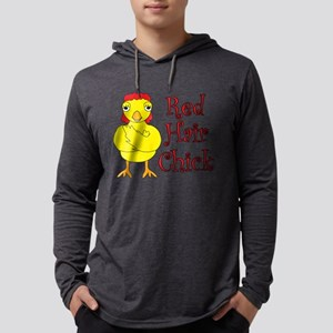 Red Hair Chick Long Sleeve T-Shirt