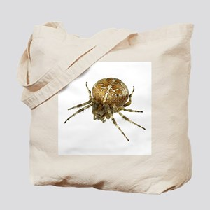 Golden Cross Spider Tote Bag