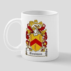 Bowman Family Crest Mug