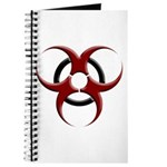 3D Biohazard Symbol Journal