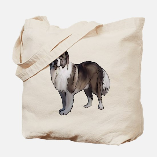 Caucasian Ovcharka portrait Tote Bag