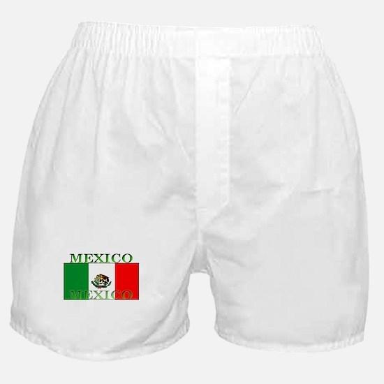 Mexico Mexican Flag Boxer Shorts