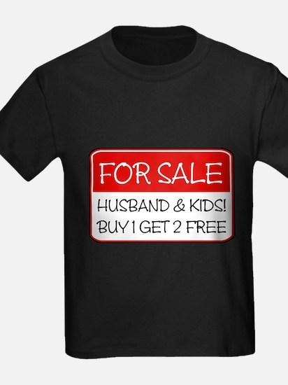4SALE HUSB/KIDS (red) T