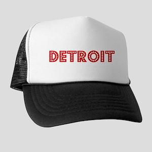 Retro Detroit (Red) Trucker Hat