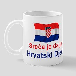 Sretan Hrvatski Djed Mug