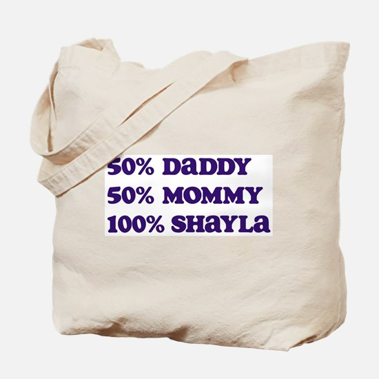 100 Percent Shayla Tote Bag