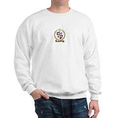 BERUBE Family Crest Sweatshirt