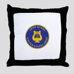 ARMY-BANDS Throw Pillow