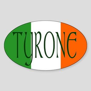 County Tyrone Oval Sticker
