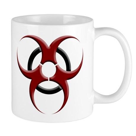 3D Biohazard Symbol Mug