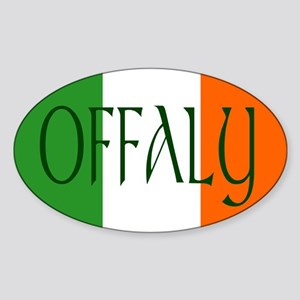 County Offaly Oval Sticker