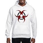 3D Biohazard Symbol Hooded Sweatshirt