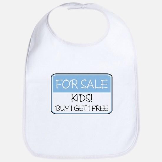 FOR SALE: KIDS! (blue) Bib