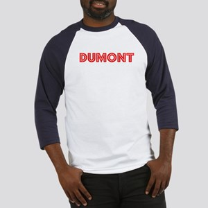 Retro Dumont (Red) Baseball Jersey