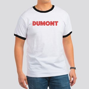Retro Dumont (Red) Ringer T