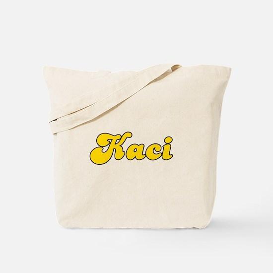 Retro Kaci (Gold) Tote Bag