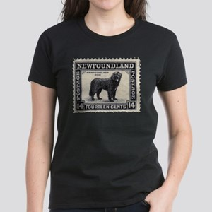 Newfoundland Stamp Women's Dark T-Shirt