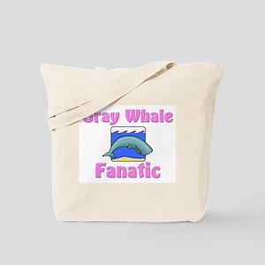Gray Whale Fanatic Tote Bag