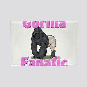 Gorilla Fanatic Rectangle Magnet