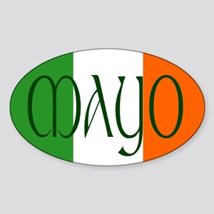 County Mayo Oval Sticker