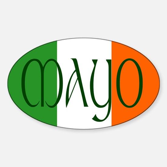 County Mayo Oval Decal