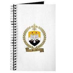 BERNIER Family Crest Journal