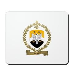 BERNIER Family Crest Mousepad