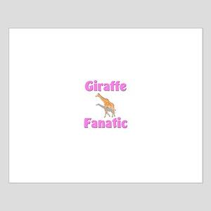 Giraffe Fanatic Small Poster