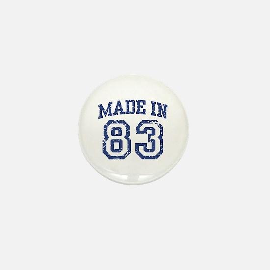 Made in 83 Mini Button
