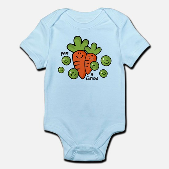 Peas And Carrots Infant Bodysuit