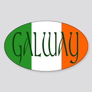 County Galway Oval Sticker
