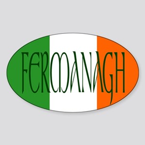 County Fermanagh Oval Sticker