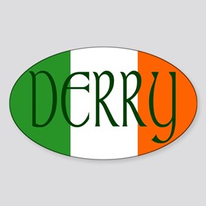 County Derry Oval Sticker