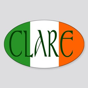 County Clare Oval Sticker