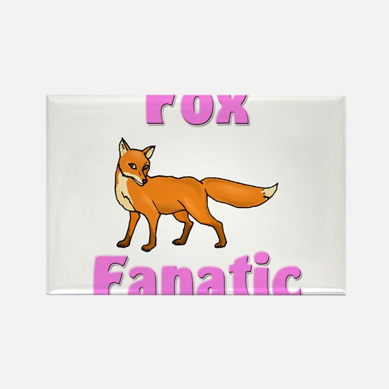 Fox Fanatic Rectangle Magnet