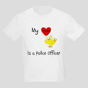 Police Officer Kids Light T-Shirt