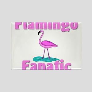 Flamingo Fanatic Rectangle Magnet