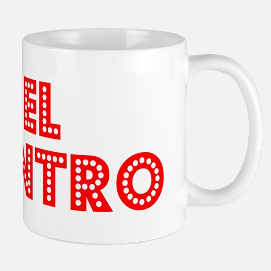 Retro El Centro (Red) Mug