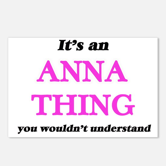 It's an Anna thing, y Postcards (Package of 8)