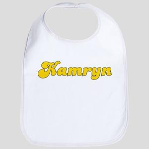 Retro Kamryn (Gold) Bib