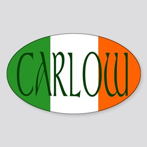 County Carlow Oval Sticker